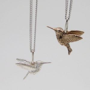 Joanna Lovett Hummingbird necklace image