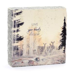 Lost Found Art Block Live Hearts Desire image home goods
