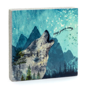 Lost Found Art Block Sing Your Song image home goods